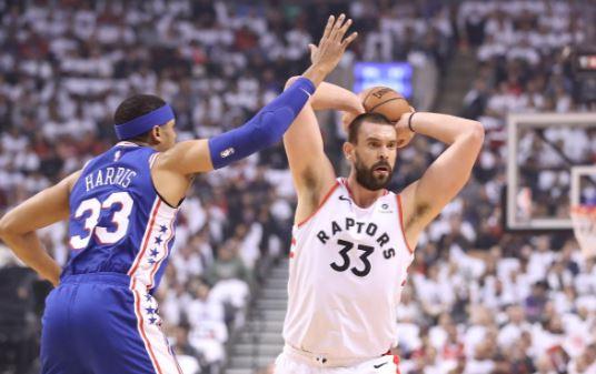 6bbd936d385ec Raptors Playoff Recap – Round 2 – Game 2 – The High 5 – PHI 94   TOR ...
